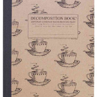 Coffee Cup Decomposition Book: College-ruled Composition Notebook With 100% Post-consumer-waste Recyc... (Notebook / blank book)