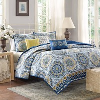 Home Essence Menara Quilted Bedding Coverlet Set - Walmart.com