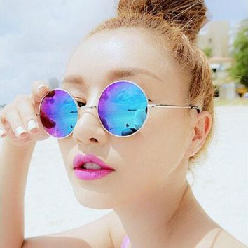VONE055 Retro small round sunglasses