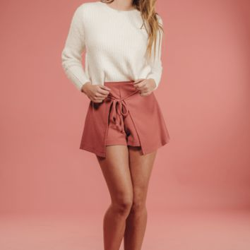 Pink Layer Short