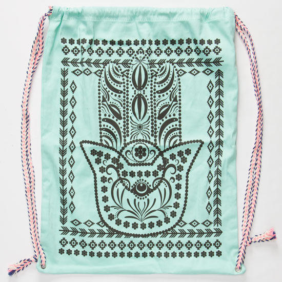 Hamsa Cinch Sack Mint One Size For Women From Tilly S