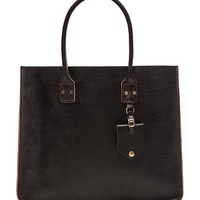 Billykirk No. 235 Leather Tote in Brown