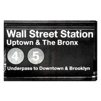 Wall Street Station (Canvas)