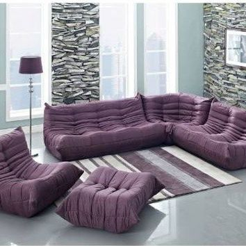 """Downlow"" Modern Sectional Sofa"