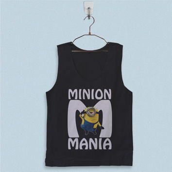 Men's Basic Tank Top - Minion Mania