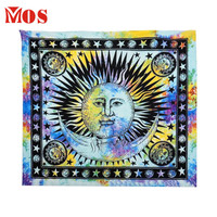 AG 2  Mosunx Business 2016 Hot Selling  Celestial Sun Hippy Tapestry Wall Hanging Throw Boho Window Doorway Door Curtain