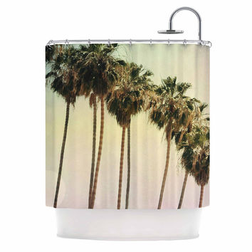 "Sylvia Coomes ""Palm Trees"" Coastal Photography Shower Curtain"