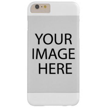 Personalized Barely There iPhone 6 Plus Case