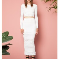 Torn by Ronny Kobo Nanette Skirt