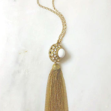 Maharani Tassel Necklace