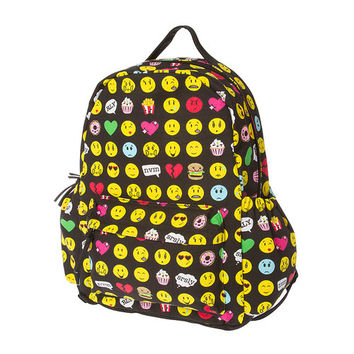 Emoji and Junk Food Backpack