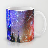 Fantasy Disney. Nebulae Mug by Guido Montañés