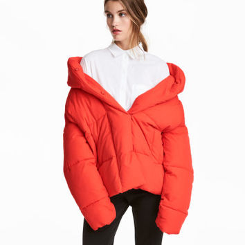 H&M Padded Jacket with Hood $59.99