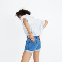 High-Rise Denim Shorts: Patch Pocket Edition : shopmadewell shorts | Madewell
