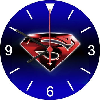 Superman Smallville Superhero Comic Wall Clock = 1946594500