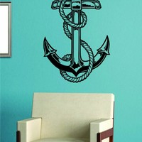 Anchor Version 4 Wall Vinyl Decal Sticker Art Graphic Sticker Sea Ocean