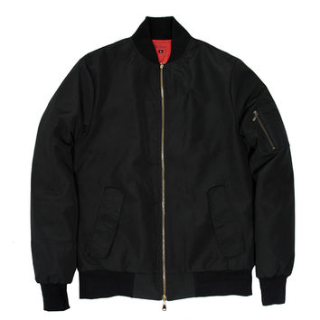 Standard Issue MA-1 Bomber Jacket - Black (sold out)
