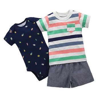 Infant Boys Insect 3 Piece Set