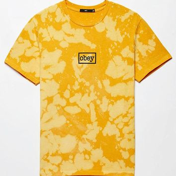 DCCKJH6 OBEY Bleached Typewriter T-Shirt