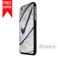 Nike Basket Ball Glitter Silver NN iPhone 6 Case