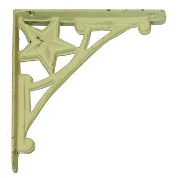 Cast Iron Star Corner Brace Set of 2