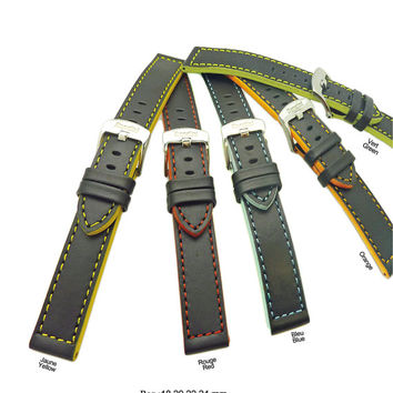 High Quality Genuine Italian Leather Watch bands