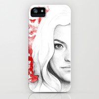 Debra Morgan - Dexter iPhone & iPod Case by Olechka