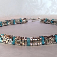 Rare Tiffany & Co. Sterling Silver and Turquoise by Mercivintage