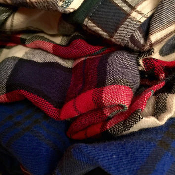 Mystery Over Sized Vintage Flannel