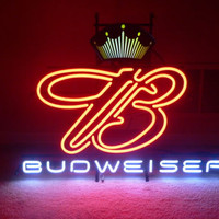 Budweiser King of Beer Neon Sign