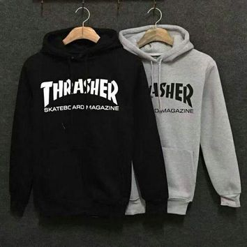 "DCCKJ1A Newest Design THRASHER Hoodies Sweatshirts Tagreâ""?From Tagre F"