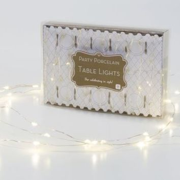 Party Fairy Lights Table Decorations