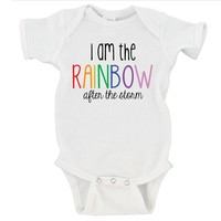 I Am The Rainbow After The Storm Gerber Onesuit ®