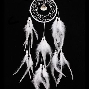 White Wind Bell Dream Catcher [9613384335]