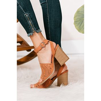 You Need To Know Cutout Heeled Sandals (Hazel Suede)