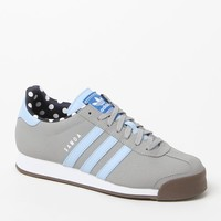 adidas Samoa Gray Low-Top Sneakers - Womens Shoes - Gray