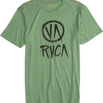 RVCA STROKE OF LUCK SS TEE