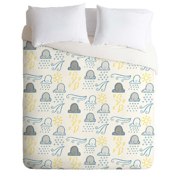 Jennifer Denty Clouds Duvet Cover