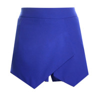 2016 Time-limited Special Offer Dropped Saias Jupe Skirts Ladies Womens Skorts Shorts Bright Mini Asymmetrical 2003 S-XL