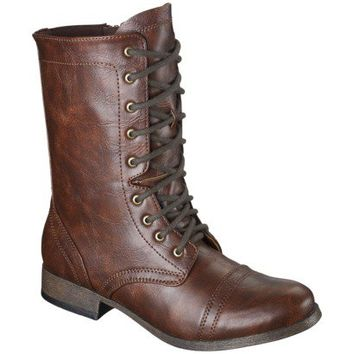 Women's Mossimo Supply Co. Kody Moto Boot - Cognac