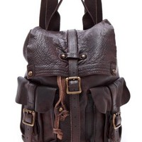 ONE by Bed Stu Shiloh Leather Backpack | SHOPBOP