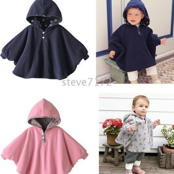 baby clothing ST-365A Baby ourterwear coats girls cape sweaters outfits baby dress smock baby cloak