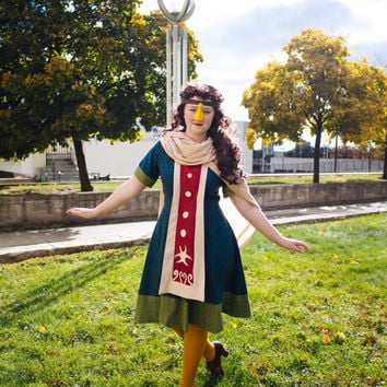 Medli Cosplay Dress Custom Cosplay Outfit Legend of Zelda Cosplay Wind Waker Costume