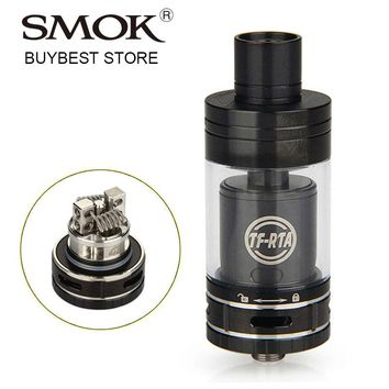 Clearance SMOK TF-RTA Tank 4.5ml Rebuildable Cartomizer with Dual-post Velocity G2 Deck DIY Coil RBA Atomizer for Vape Box MOD