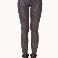Secret Rebel Distressed Leggings