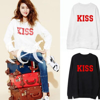 KPOP Girls' Generation Party kiss long sleever Costume SNSD TaeYeon Yoona Sweater = 1946140484