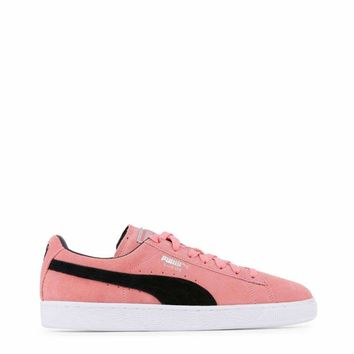 Puma Suede Men Pink Sneakers