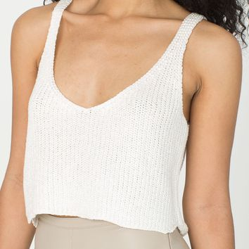 Sparkle Crop Tank | American Apparel