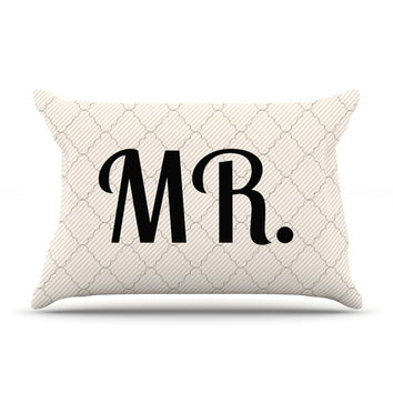 "KESS Original ""MR"" Pillow Sham"