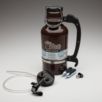 BEERloved/DrinkTanks Growler + Keg Cap Kit, 64 oz.